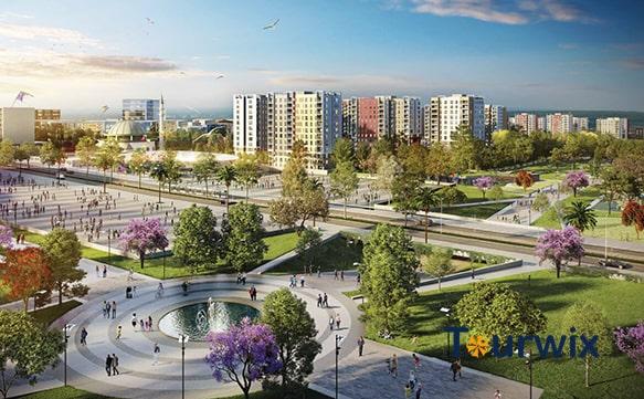 Wo ist Sur Yapi Ferienwohnungen in Antalya?