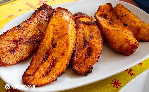 Sansibar Ndizi Kaanga Gebratene Banane