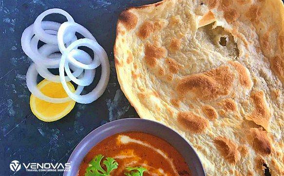 Sansibar Spezialgericht Chapati Brot