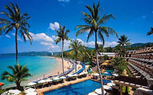 Thailand Phuket, Karon Strand