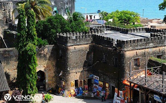 Das Stone Town in Sansibar