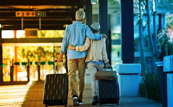 Pflege und Urlaub für Alte Menschen